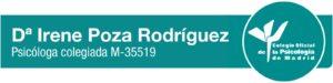 Irene Poza Rodriguez - Psicologa colegiada